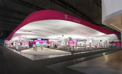 Projekt: CeBIT 2013, Deutsche Telekom AG Rahmenkonzept und Architektur: q~bus Mediatektur GmbH