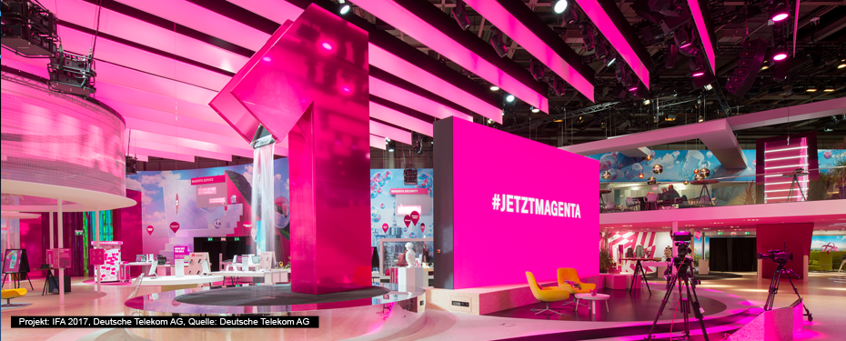 fairtec kommunikationstechnik gmbh en deutsche telekom ifa 2017. Black Bedroom Furniture Sets. Home Design Ideas